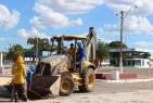 Serviço de limpeza é  intensificado no Parque Antônio Lisboa da Cruz