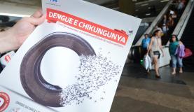 Até 15 de novembro, o Ministério da Saúde já havia identificado 1.364 casos de chikungunya no paísElza Fiuza/Agência Brasil