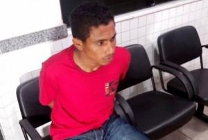 Faelio Aires da Silva, 20 anos, foi preso próximo ao Posto Marituba no município de Cariri (TO)