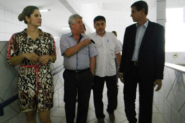 Durante a visita Bonilha esteva acompanhado da subsecretária, Maria Auri Gonçalves, da Superintendente de Atenção à Saúde, Maria Gleyd Brito Silva, do diretor geral, Reinhard Langen, da diretora administrativa, Vera Lúcia Amaral,  do diretor clínico, Francisco Macedo