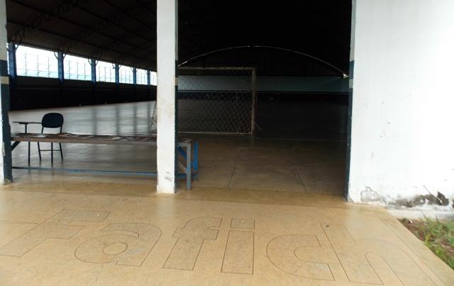 O Ginásio de Esporte construído na época da Fafich hoje é usado por um grupo de pessoas que pagam a hora e por alunos da AGAB de forma gratuíta.