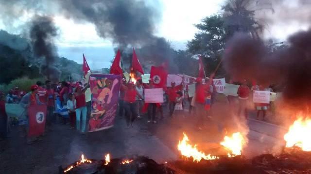 Movimento desta segunda-feira no Tocantins.