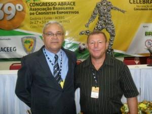 Atualmente é presidente da Associação dos Cronistas Esportivos do Tocantins – ACETO e diretor de comunicação da Associação Brasileira dos Cronistas Esportivos – ABRACE. (Foto: Divulgação)