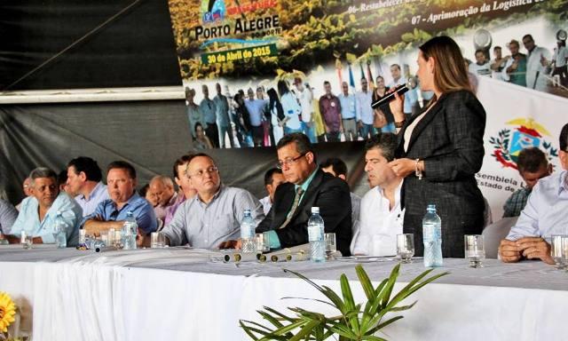 A vice-governadora destacou que o convênio para divisão das responsabilidades na área da saúde vai melhorar o atendimento para a população - Fátima Miranda/Vice-Governadoria