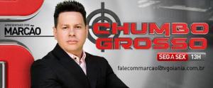 Desde setembro de 2014, Marcão do Povo apresenta na Band de Goiânia o programa Chumbo Grosso.