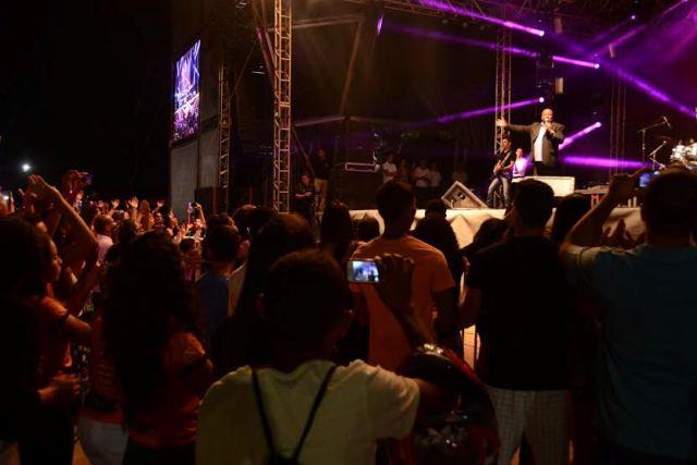 A 9ª edição do Festival Gastronômico de Taquaruçu (FGT) foi encerrada na noite desta terça-feira, 8, com apresentação do cantor católico Eduardo Jorge.