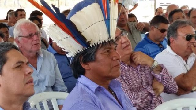 """""""Vamos juntar a força de indígenas e brancos"""""""