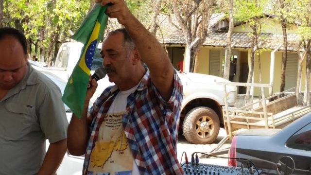 """Isso é o que nós precisamos para continuarmos produzindo porque no Mato Grosso estamos isolados e escondidos"""" Júlio Calisto"""