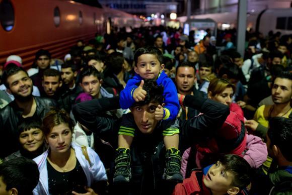 Imigração - Refugiados que atravessaram a Hungria e Áustria se alojam em centro na AlemanhaEPA/Sven Hoppe/Agência Brasil/Direitos Reservados