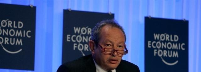 Naguib Sawiris durante o Fórum Econômico Mundial de 2009 (Foto: Flickr/World Economic Forum/Nader Daoud)