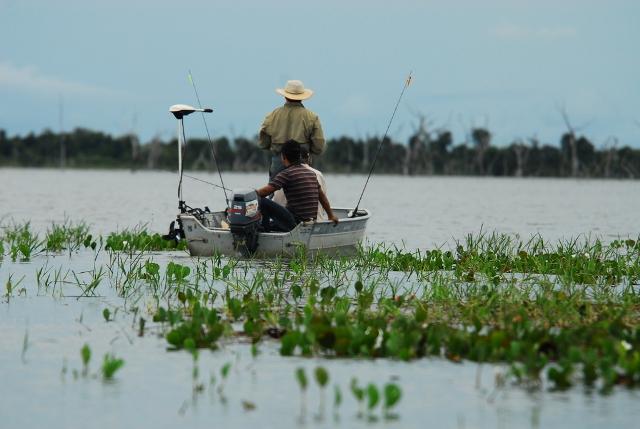Pesca Esportiva Lago do Calumbi - Formoso do Araguaia Ilha do Bananal (Foto: Thiago Sá)