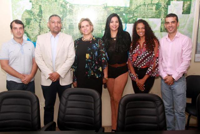 Representantes  da Associação Brasileira de Indústria de Hotéis (ABIH), do Palmas Convention & Visitors Bureau e do Sindicato de Hospedagem, Alimentação Preparada e Bebidas a Varejo de Palmas foram recebidos pela equipe da Seden