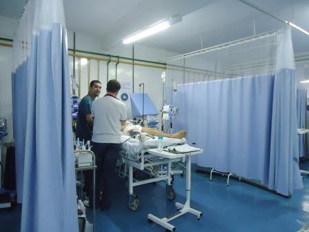 UTI no Hospital Regional de Gurupi.