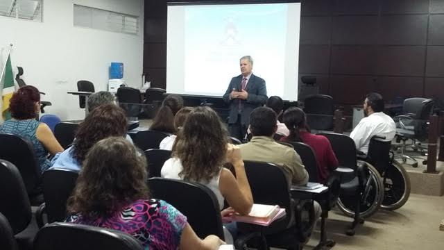 Juiz Ademar Alves de Souza Filho destacou a importância da parceria entre a Cepema e as instituições para o efetivo cumprimento da Prestação de Serviço à Comunidade
