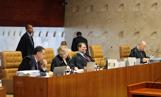 Ministros do STF em sessão plenária. Foto: Rosinei Coutinho/SCO/STF