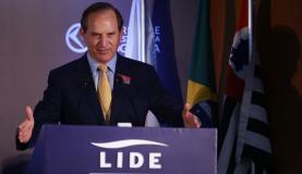 Infraestrutura é barreira para competitividade de produtos brasileiros, diz Luiz Fernando Furlan, ministro de Desenvolvimento, Indústria e Comércio no governo Lula Divulgação