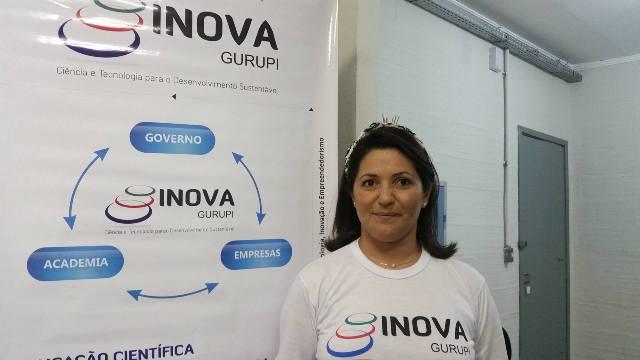 Vice-coordenadora do Projeto INOVA, Adriana Terra