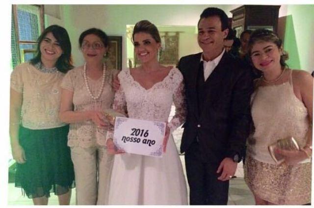 Juciene Andrade, Valmira, Danyella Nato, Anderson e Juçara.