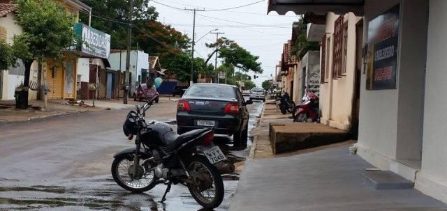 A vistoria realizada pelo MPE constatou diversas irregularidades nas principais avenidas da cidade
