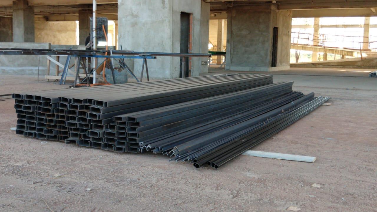 redede Novos materiais chegam para a construção do Hospital Geral de Gurupi