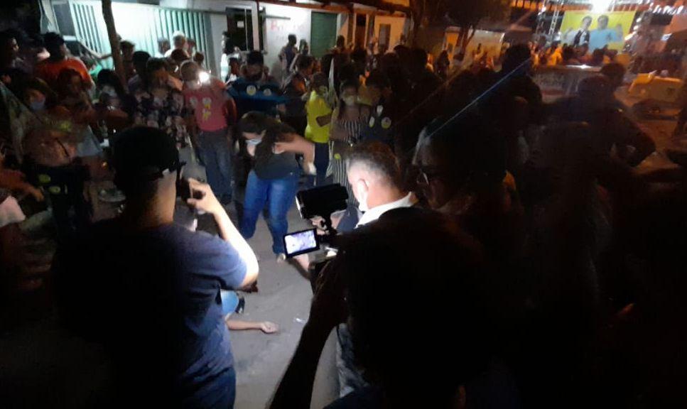 homicidio Homem é executado durante comício da coligação de Gutierres Torquato na Vila São José