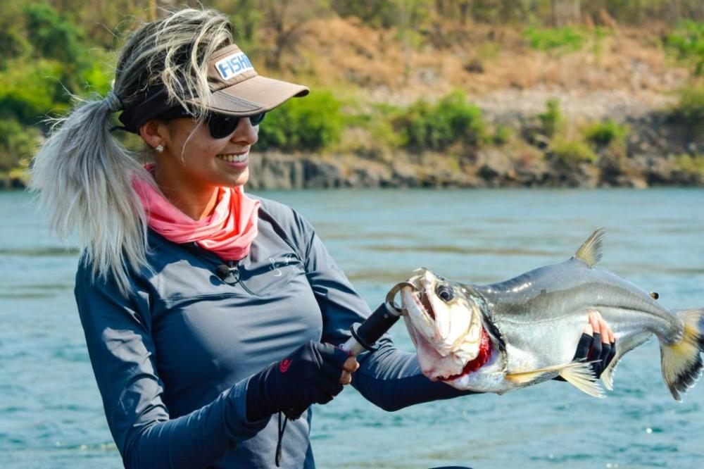 Pesca-espotiva-tocantins Tocantins é destaque no maior programa de pesca esportiva do Brasil, o Fish TV
