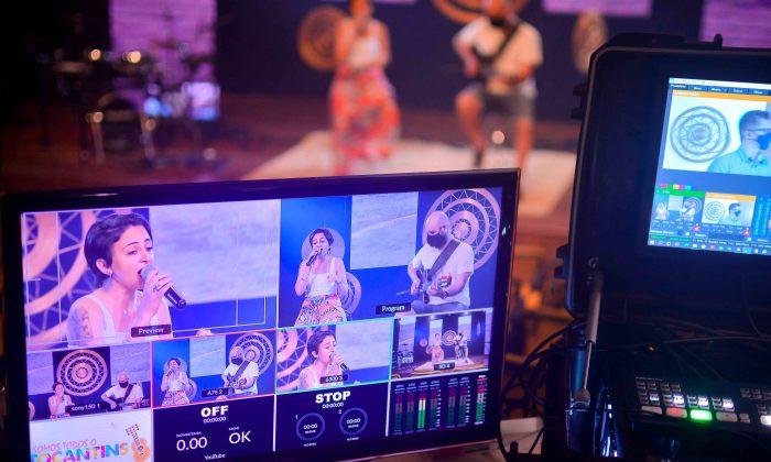 """artistas Artistas de Gurupi e Araguaína gravam shows para o projeto """"Somos Todos o Tocantins"""""""