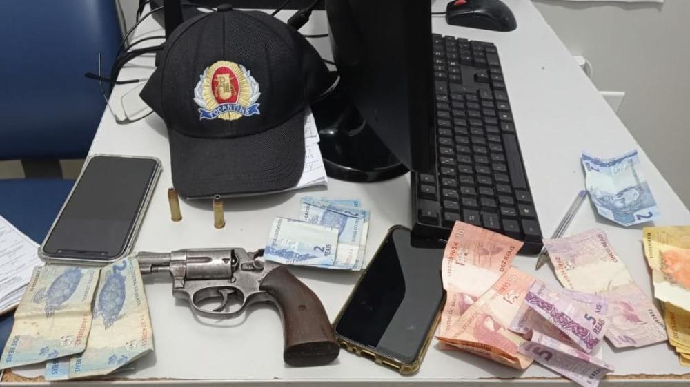 dupla Dupla é detida após roubo e efetuar disparo em via pública em Gurupi