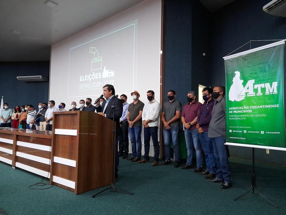 6005d2a6b5dec Diogo Borges é eleito presidente da ATM para o biênio 2021-2022