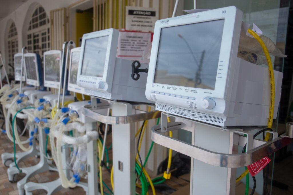 Respiradores-1024x682 Depois de meses, respiradores em desuso na UPA são cedidos ao Hospital Regional de Gurupi