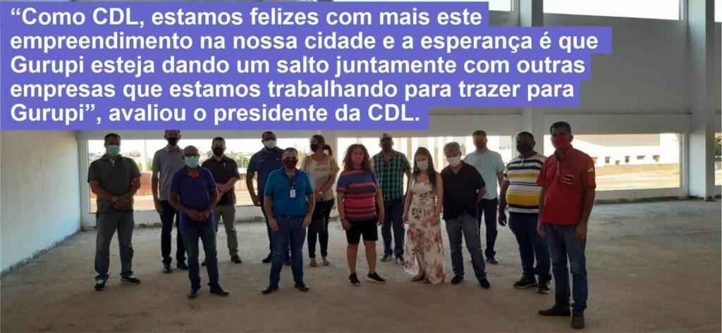 """Shopping-Araguaia-cdl-frase-1024x473 """"A CDL acredita que o shopping venha trazer muito benefícios para Gurupi"""", mostra presidente da entidade"""