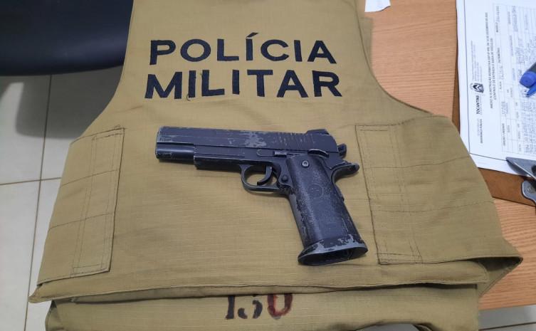 252603 Adolescente é detido após tentar roubar mulher com arma de fogo falsa em Gurupi