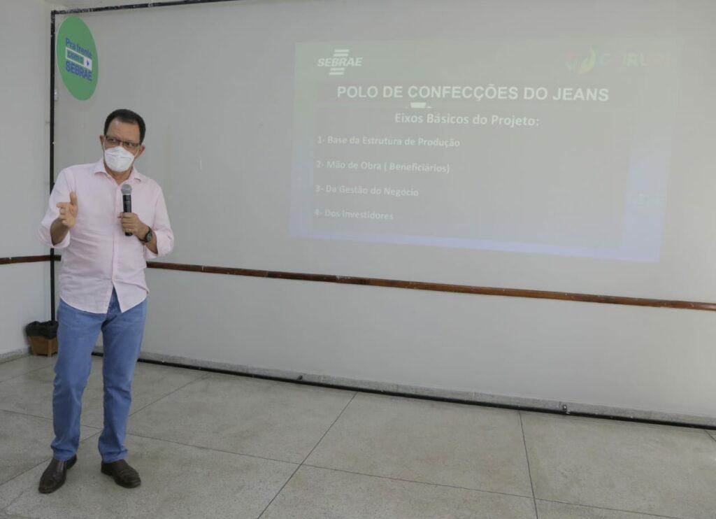 encontro-no-sebrae-7-1024x742 Josi Nunes, Sebrae e Senai discutem programa Cidade Empreendedora e Polo de Confecções do Jeans no município