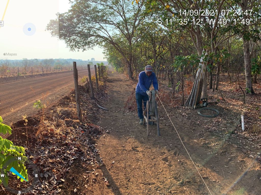 Estrada-Trevo-da-Praia Obra de pavimentação da rodovia do Trevo da Praia continua avançando
