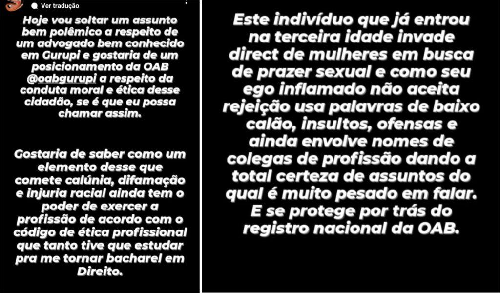 Luiz-tadeu-2-vitima-bA-1024x600 Advogado conselheiro federal da OAB do Tocantins é acusado de molestar mulheres jovens em Gurupi