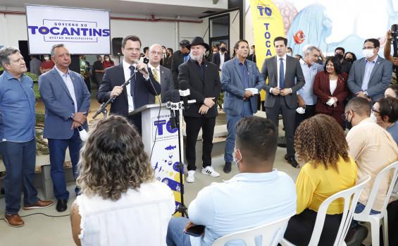 """265471 """"Investimos R$ 50 milhões no Tocantins para a Segurança"""", afirma ministro durante evento em Palmas"""