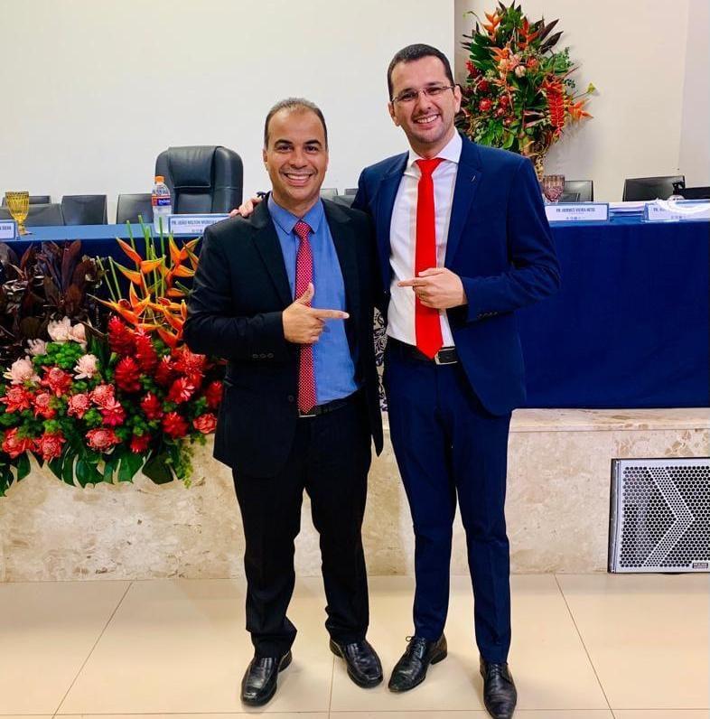 madu Marcos Duarte e Filipe Martins são escolhidos pela  Assembleia de Deus - Madureira como pré-candidatos em 2022